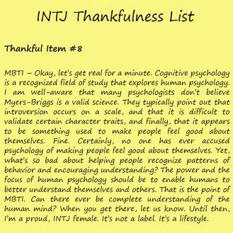 Introvert Life: The Thankful INTJ. Thankful-8