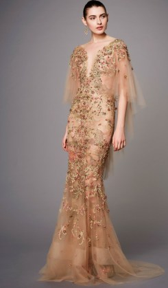 Photo Credit: Marchesa via Vogue.com. INTJ Fashion Trends for fall 2017.