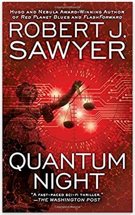 Quantum Night Book Cover. Always Uttori April Reading list. Alwaysuttori.com