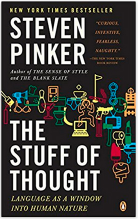 The Stuff of Thought, Steven Pinker. Always Uttori April Reading list. Alwaysuttori.com