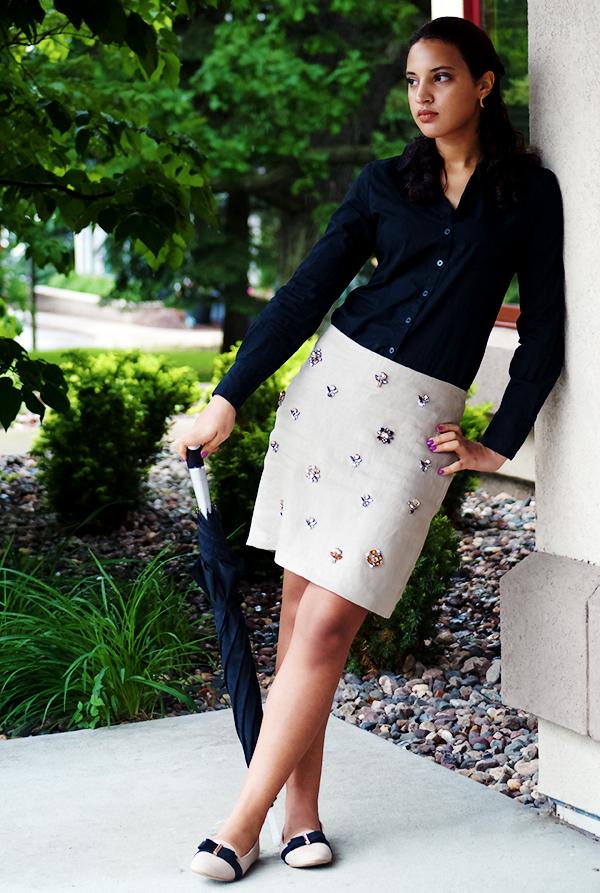 Girl Boss Fierce L4, P1. Spring Fashion, Girl Boss Fierce, Look 4. Photo Credit: Mechelle Avey. Alwaysuttori.com
