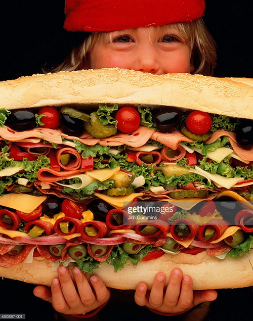 Big Sandwich. Photo Credit: Jim Cummings - 450887-001. Gettyimages.com. Introvert Survival Guide. Alwaysuttori.com