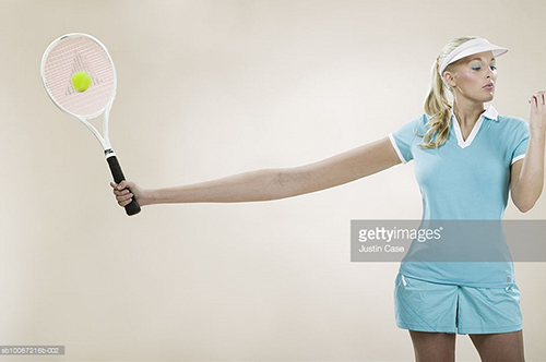 Female Tennis Player. Photo Credit: Justin Case - sb10067216b-002. gettyimages.com. Introvert Survival Guide. Alwaysuttori.com
