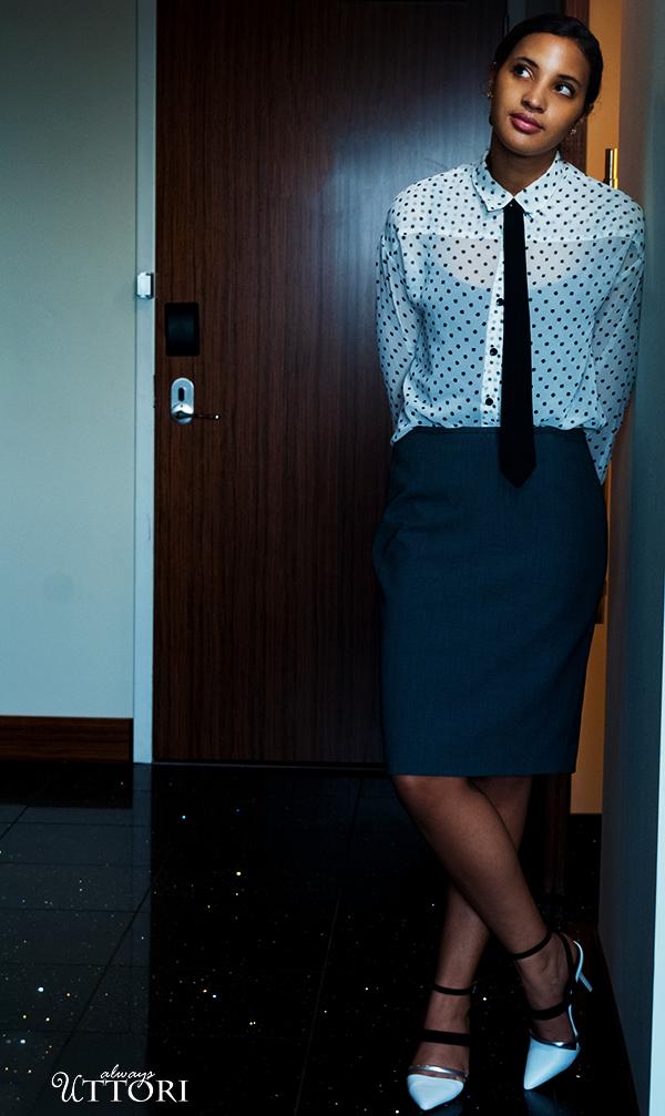 Girl Boss Fierce, L6, P3. Photo Credit: Mechelle Avey. Spring Fashion, Girl Boss Fierce, Look 6. Alwaysuttori.com