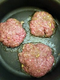 Cook the burgers