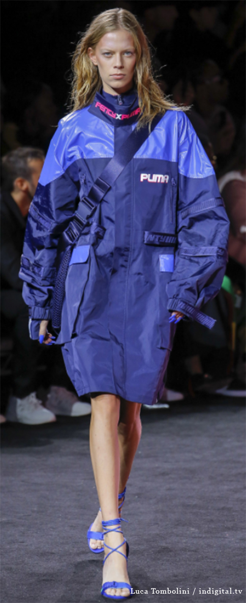 Fenty 1. Photo Credit: Luca Tombolini / indigital.tv via Vogue.com. Spring 2018 Athleisure Forecasts: Everything's Coming Up Fenty X Puma. Alwaysuttori.com