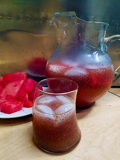 Watermelon Lemonade. Photo Credit: Always Uttori. Mari Tries | Plant Based Water. Alwaysuttori.com