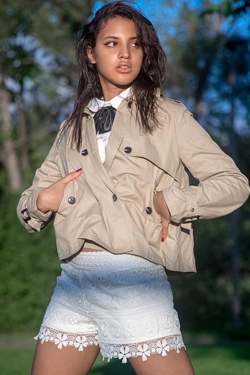 Sherlock Holmes Fashion GIrl. Photo Credit: Always Uttori. Uttori Fashion: 5 Summer Fun to Chic Shorts Looks. Alwaysuttori.com