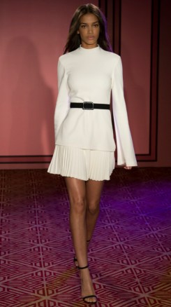 BrandonMaxwell 2. Photo Credit: Vogue.com. Uttori Style   2018 Spring Transition Fashion. Alwaysuttori.com