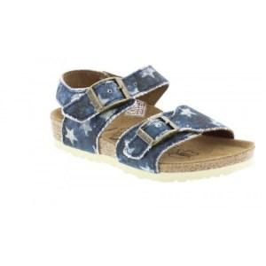 birki sandalen met sterretjes