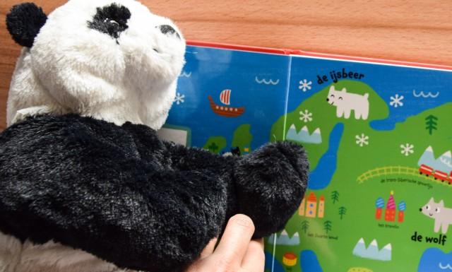 Panda met Zweden