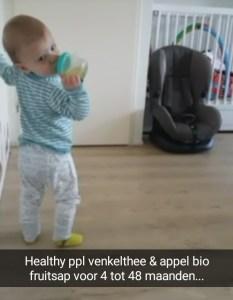 Healthy People Venkelthee Appelsap Snapchat