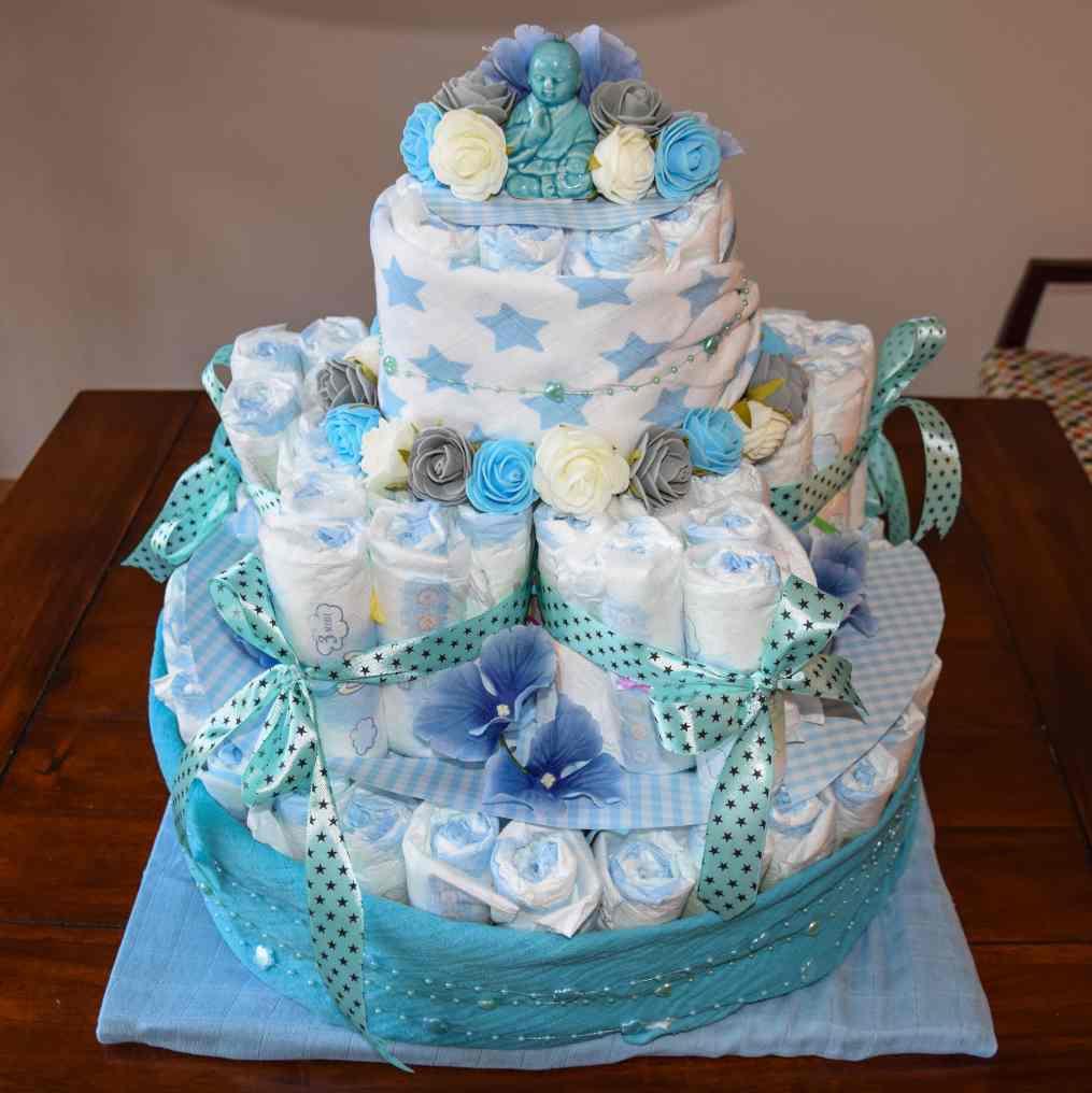 luiertaart diaper cake 19 star