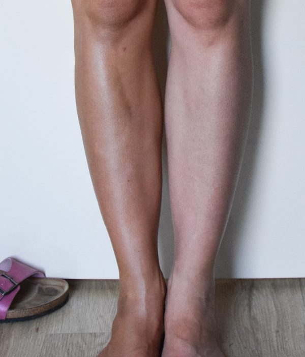 Body Blur been met en zonder