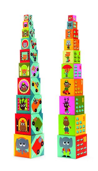 kartonnen stapelblokken djeco