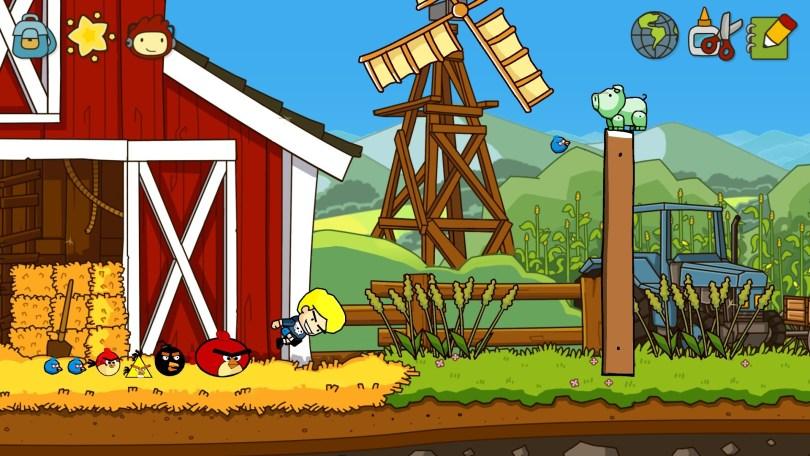 Beavis plays Angry Birds