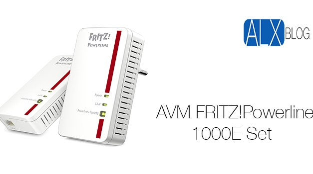 Internet aus der Steckdose: FRITZ!Powerline 1000E Set