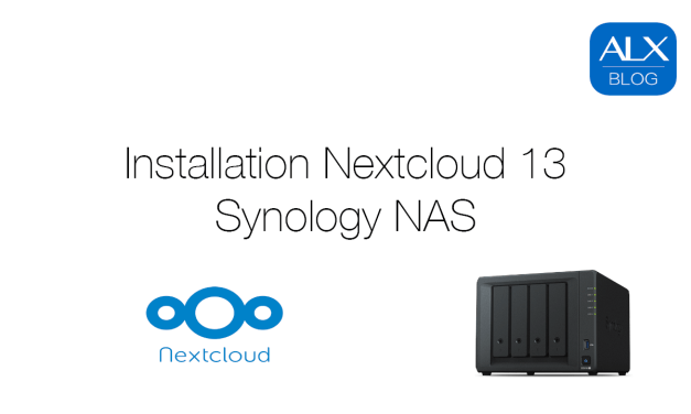 Installation Nextcloud 13 auf Synology NAS