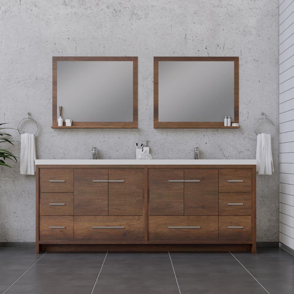 alya bath sortino 84 inch double modern