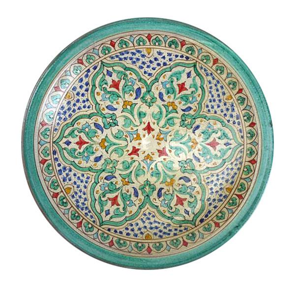 plato cerámica granadina