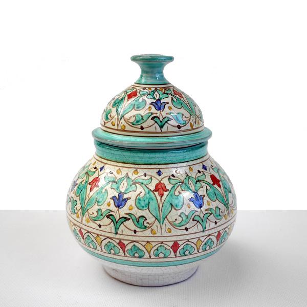 Bombonera ceramica granada