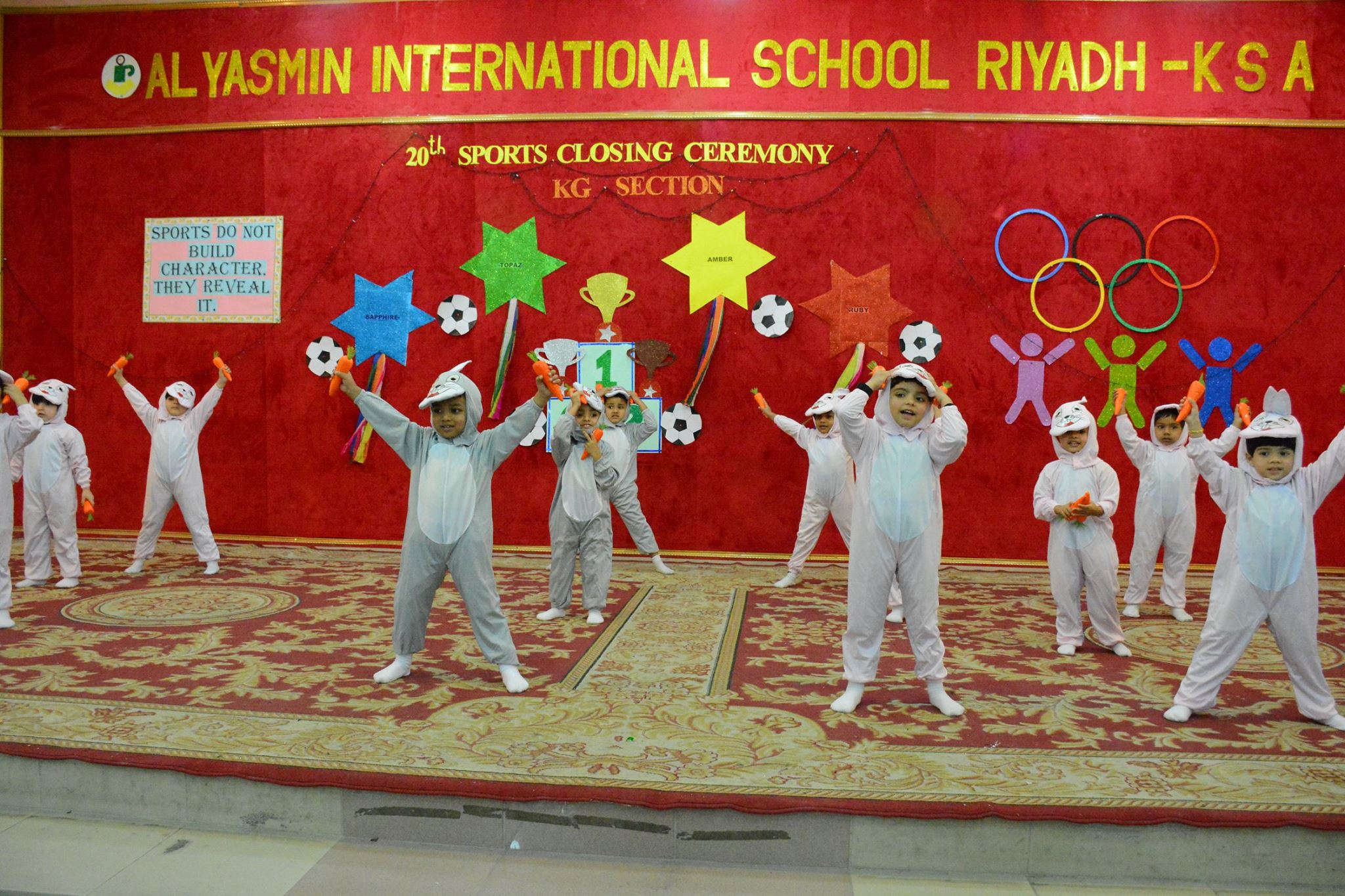 20th Annual Sports Ceremony Kg Section