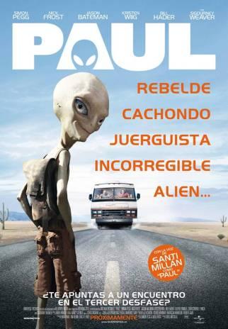 """Bu film için """"çok çok iyi, mutlaka izleyin"""" diyemeyiz. Zaten izleyenlerin görüşleri de çok farklı. Kimisi """"süper"""" diyor, kimisi """"klişelerle dolu .oktan bir film"""" diyor. Ama filmdeki uzaylı karakter Paul'un evrimle ilgili söylediklerini duymak için bile izlenebilir diye düşünüyoruz. Ha bu arada Paul, gemisi dünyaya düşen ve evine geri dönmeye çalışan uzaylı kahramanımız oluyor. """"Alla allaaa, biz niye görmedik bu filmi vizyondayken?"""" diye sormayın kendinize, çünkü vizyona girmedi."""
