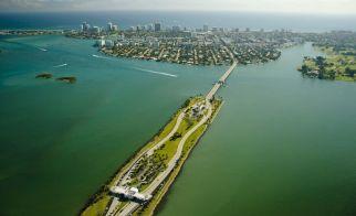 ABD – Miami'nin kuşbakışı görünümü
