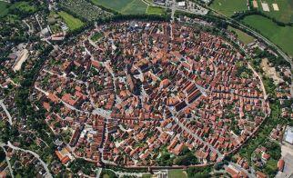 ALMANYA – Nördlingen'in kuşbakışı görünümü