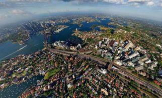 AVUSTRALYA – Sydney'in kuşbakışı görünümü