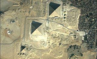 MISIR – Gazze'nin kuşbakışı görünümü