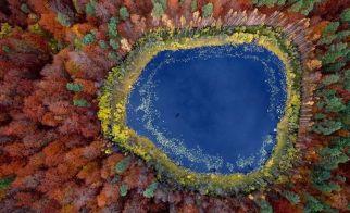 POLONYA CUMHURİYETİ – Pomerania'nIn kuşbakışı görünümü