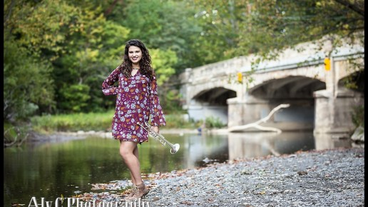 Avon High Senior Portraits in the Park | Lauren