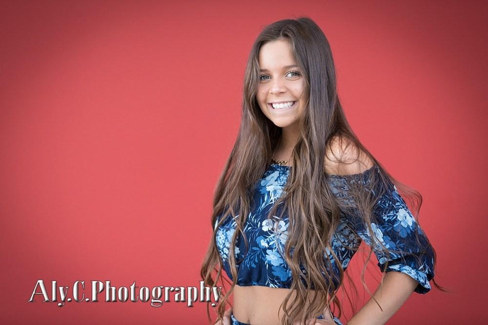senior girl,