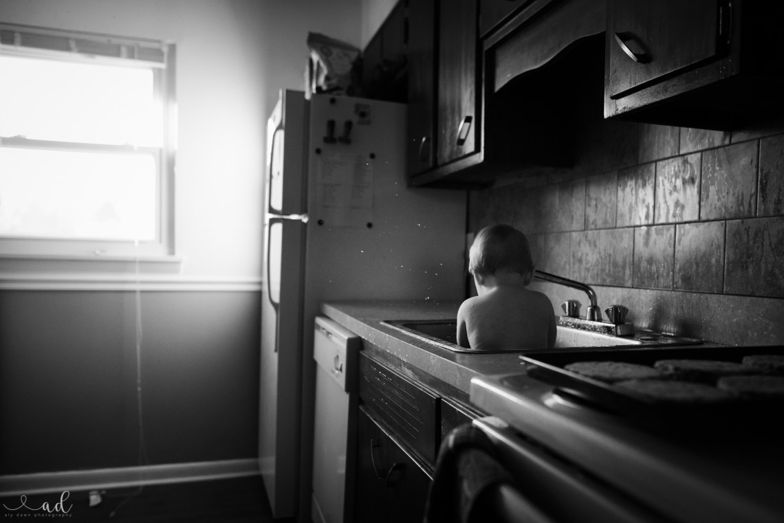 Aly Dawn Photography A Boy and His Bath