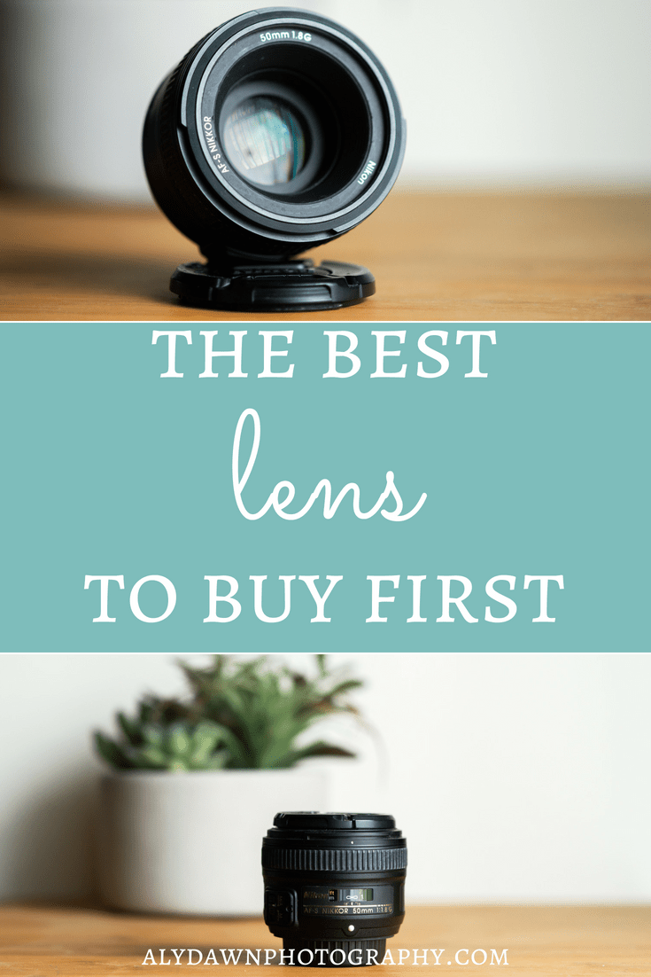 The best lens to buy first