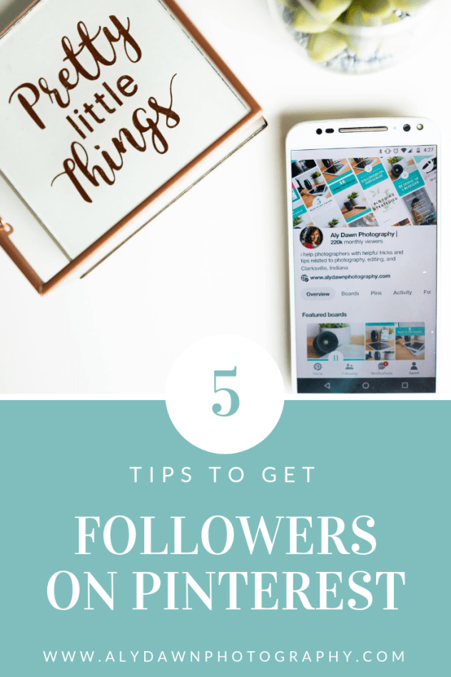 Aly Dawn Blog 5 Tips to Get Followers on Pinterest
