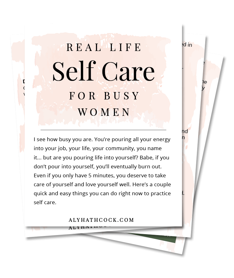 20 Self Care Ideas in Under 5 Minutes for Busy Women and for Millennials