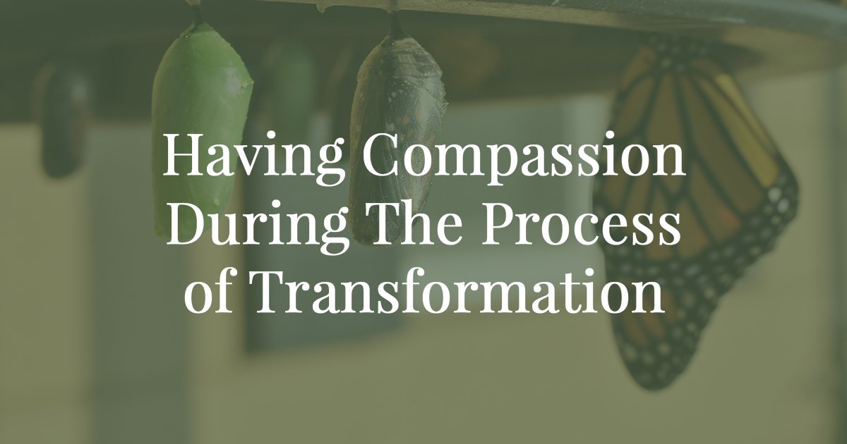 The truth about the process of transformation