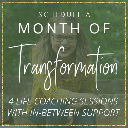 Month of Transformation with Life Coach Aly Hathcock