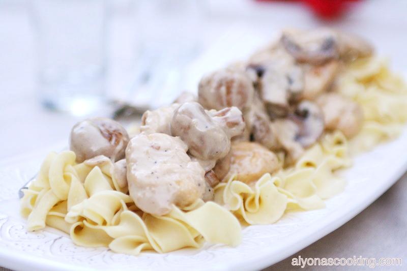 mushroom chicken sauce_Fotor