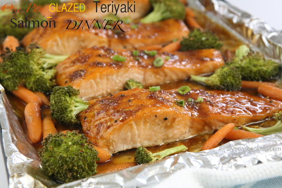 glazed salmon second best