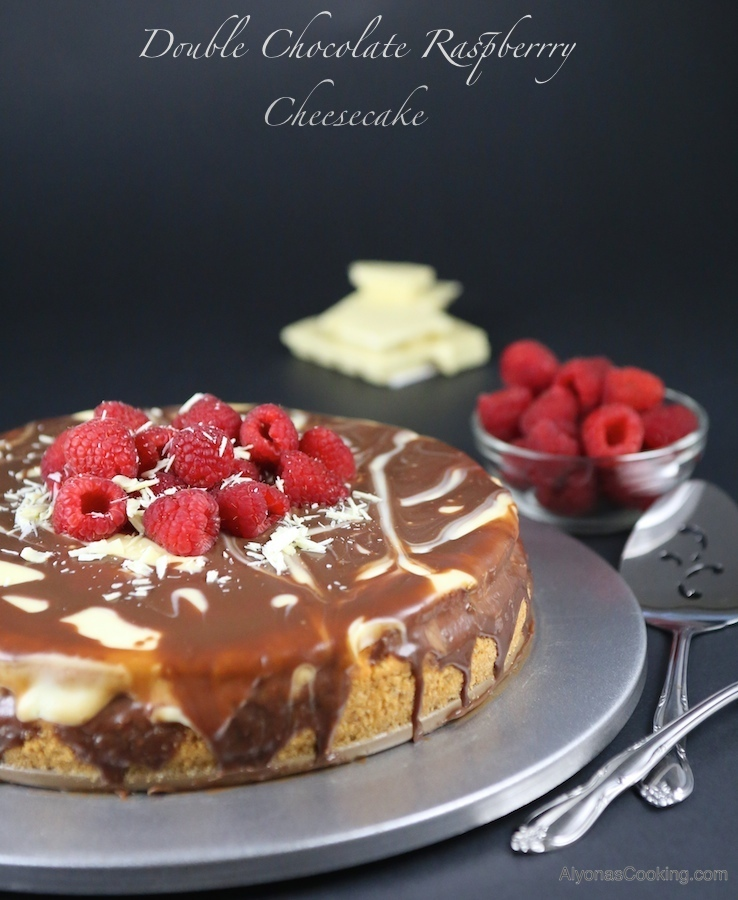 double-chocolate-raspberry-cheesecake