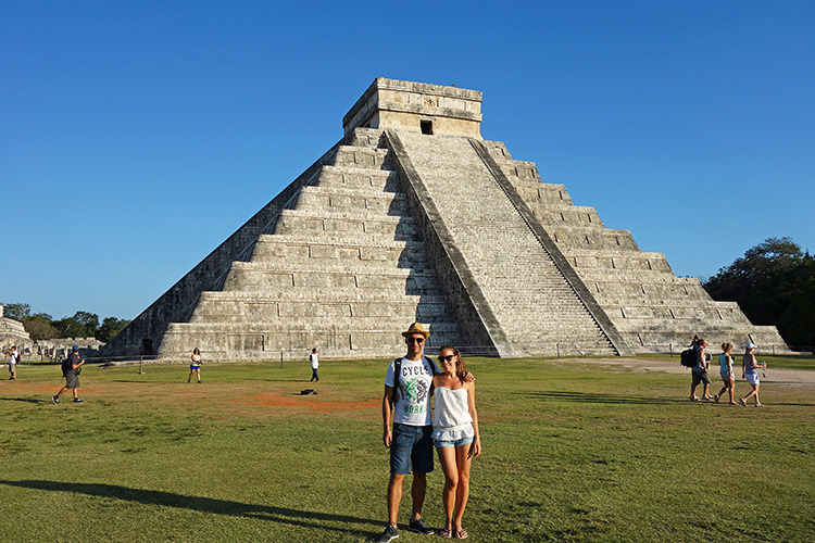 Ourselves @ Chichen Itza
