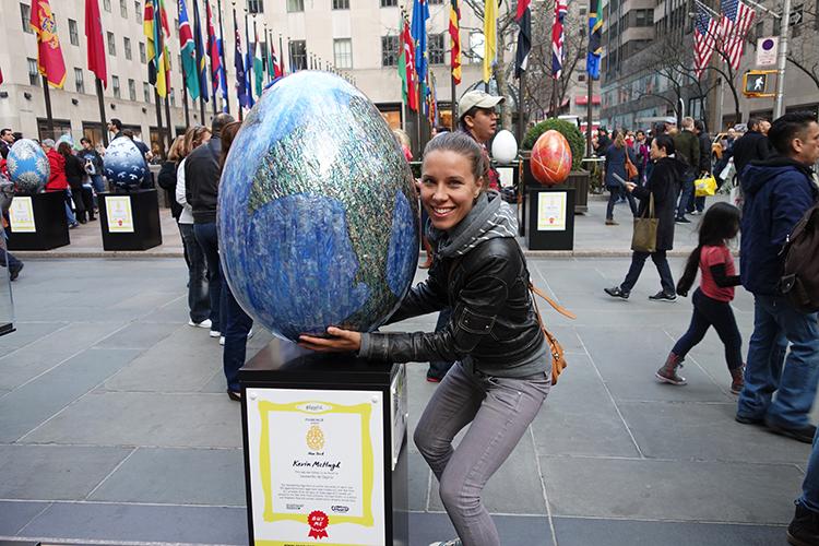 Me @ Rockefeller Plaza in New York