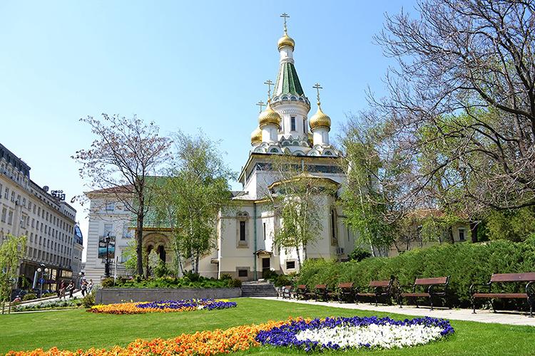 St. Nicholas Russian Church in Sofia
