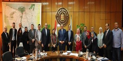 """""""سعفان"""" يلتقى بعثة """"العمل الدولية"""" لمناقشة وتطوير محتوي مشروع برنامج الدعم الفني مع الحكومة المصرية"""