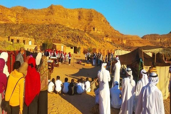 """وزيرة الثقافة تتابع فعاليات القوافل الثقافية بـ """"وديان سيناء"""""""