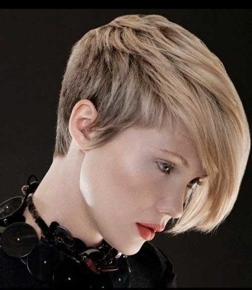Short-Length-Pixie-Blonde-Haircut Short Length Haircuts 2020