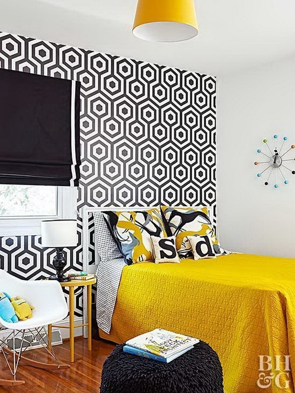 Adding-Yellow-Accents-To-A-Room-2 Decorating With Yellow: How To Brighten Your Space With Yellow